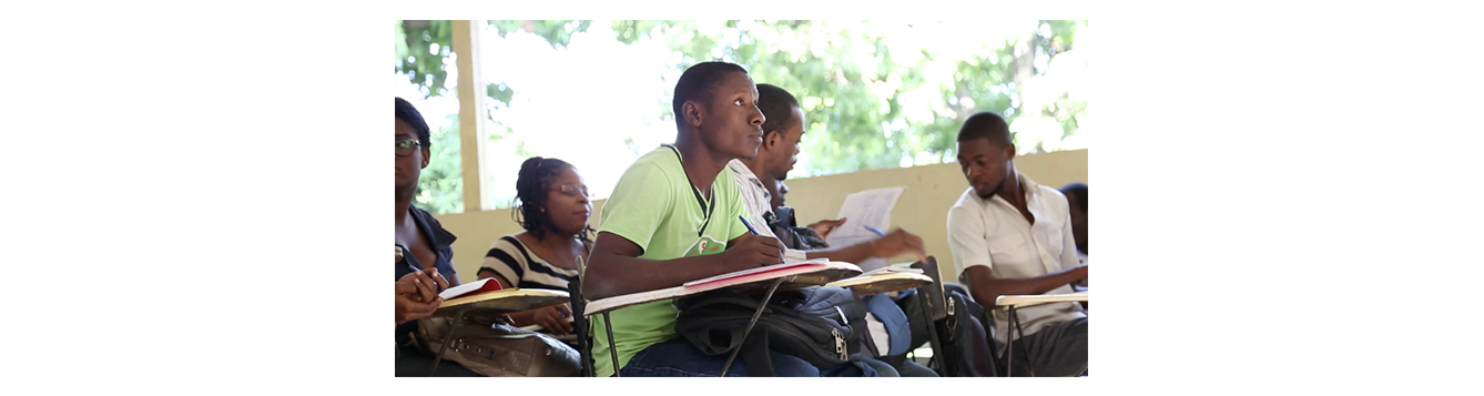 Haitian college students