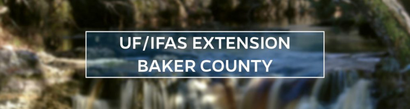 UF/IFAS Extension Baker County Blog
