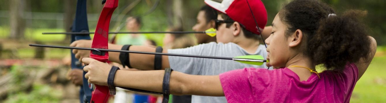 4-H Archery is great for kids of all ages.