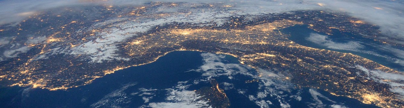 Picture of Florida from space