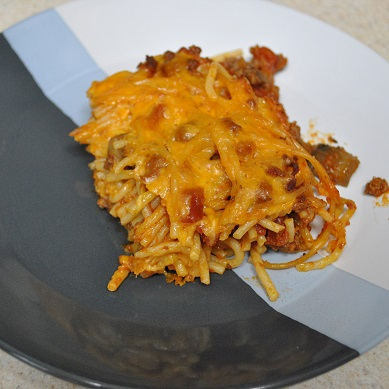 portion of spaghetti