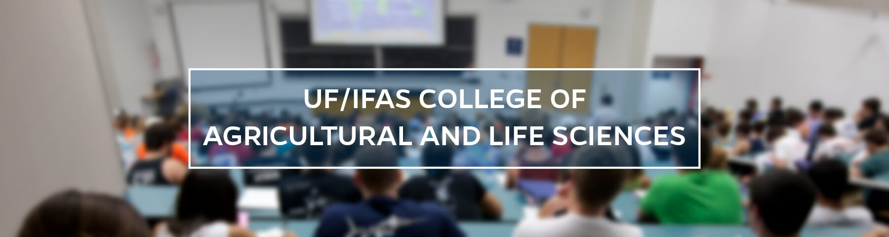 UF/IFAS College of Agricultural and Life Sciences