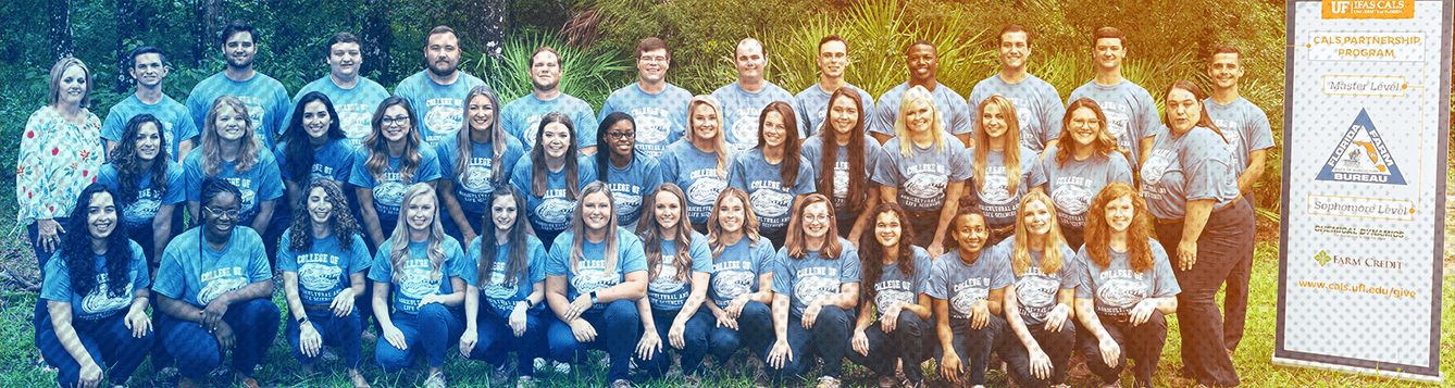 three rows of cals ambassadors posed for a group photo