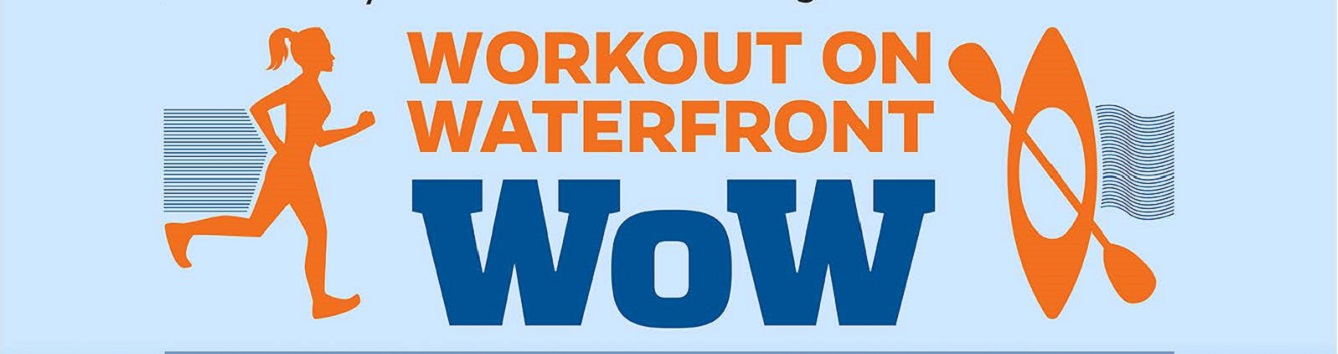 Workout on the Waterfront Logo