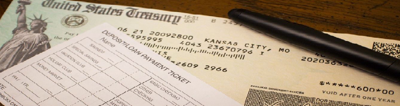 Covid-19 stimulus check.