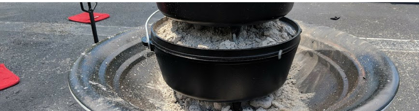 Cooking with Cast Iron pot