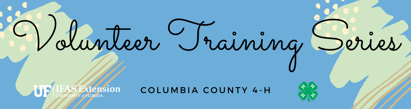 Volunteer Training Series