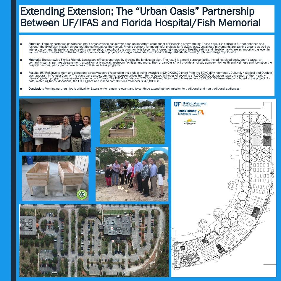 Extending extension the urban oasis partnership between for Florida hospital fish memorial