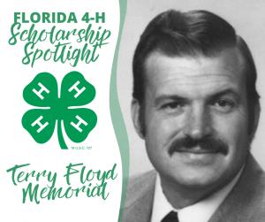Scholarship Spotlight portrait image of Terry Floyd