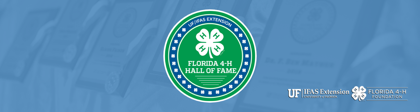 Florida 4-H Hall of Fame Graphic