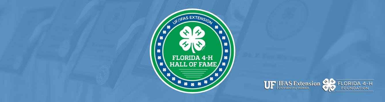 Florida 4-H Hall of Fame graphic