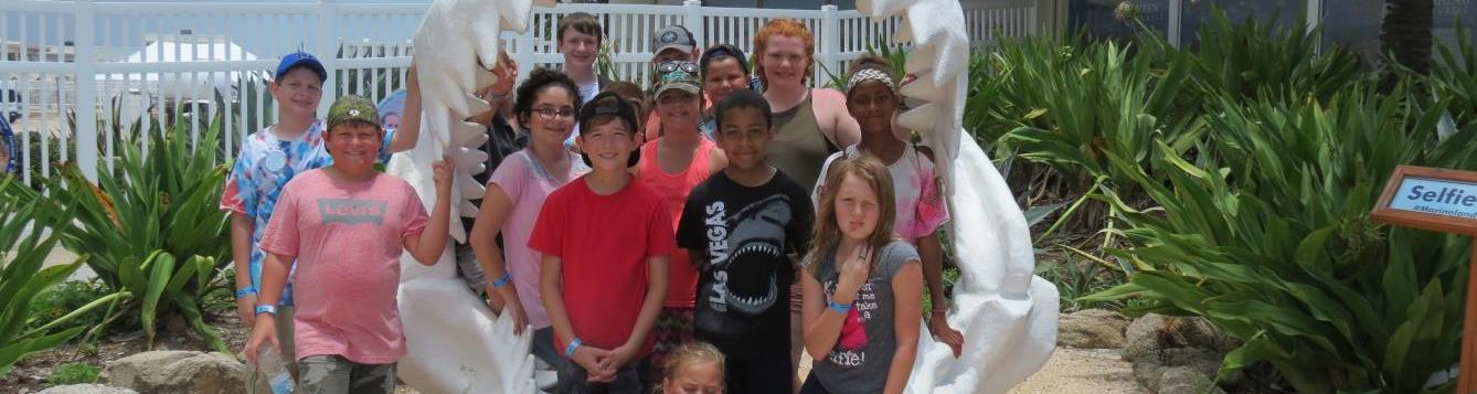 4h'ers at Marineland