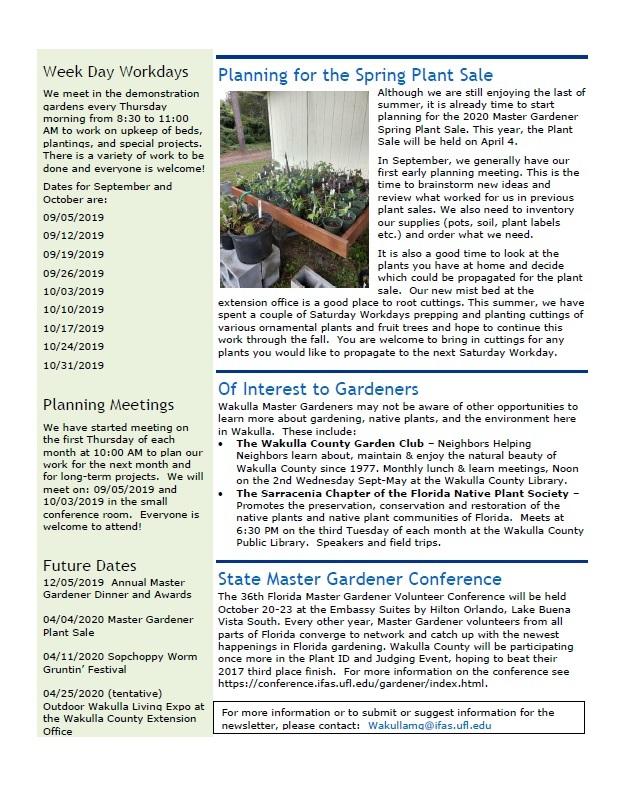 SeptOct Newsletter 2019 p2