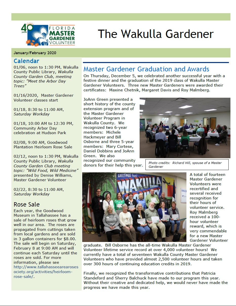 JanFeb Newsletter 2020 p1