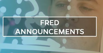 FRED ANNNOUNCEMENTS