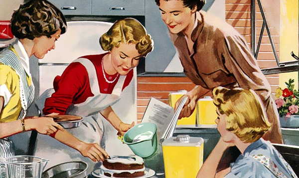 housewives baking