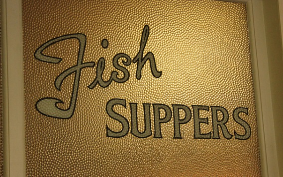 fish supper sign
