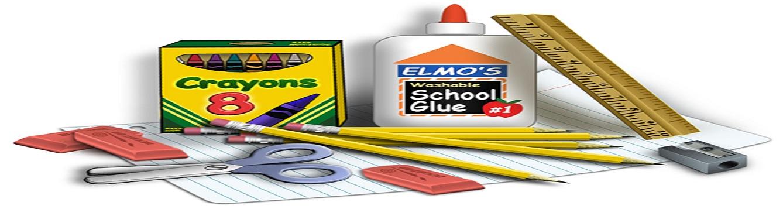 school supplies feat