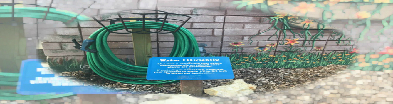 Water hose feat 1, Artwork designed by Patricia Standeford