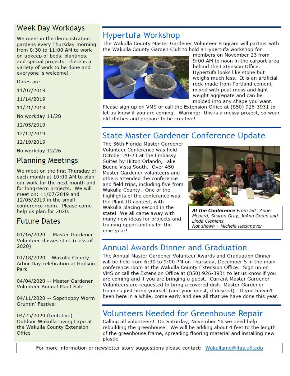 NovDec Newsletter 2019 p2