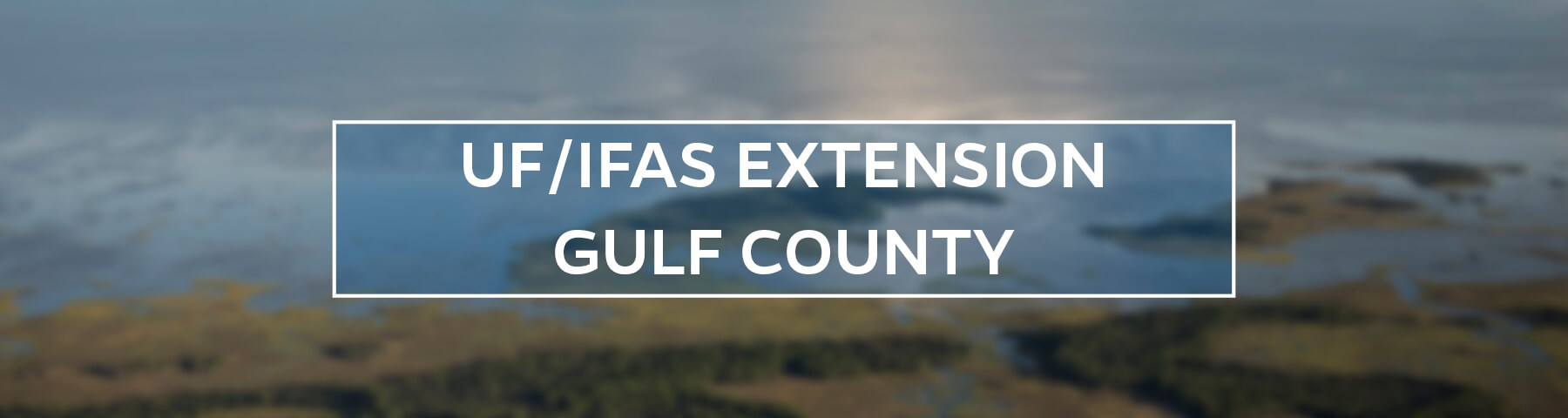 UF/IFAS Extension Gulf County