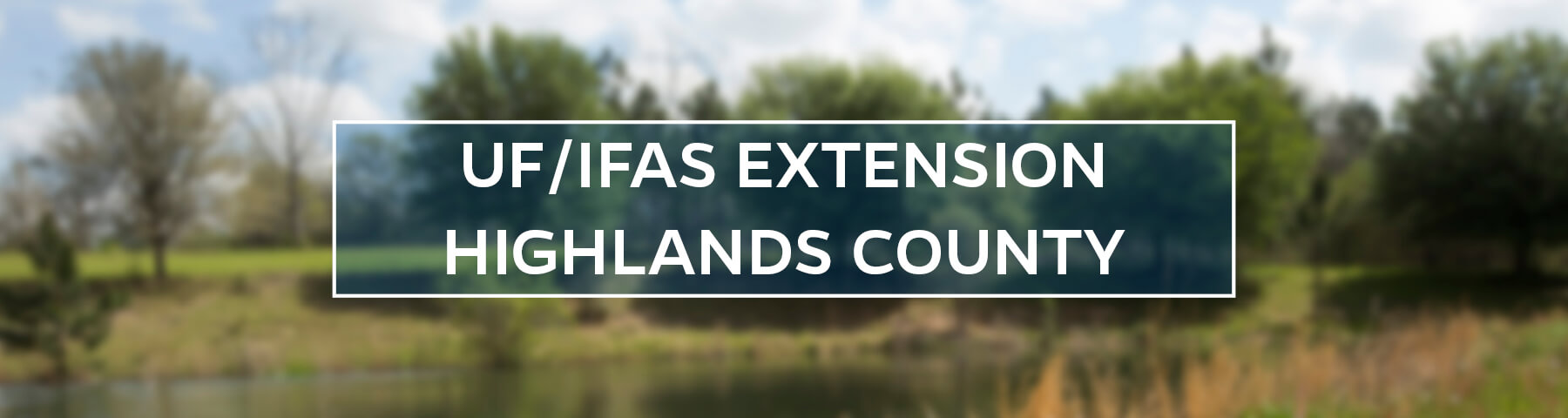UF/IFAS Extension Highlands County