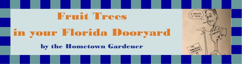 Title page, Fruit trees in your Florida Dooryard