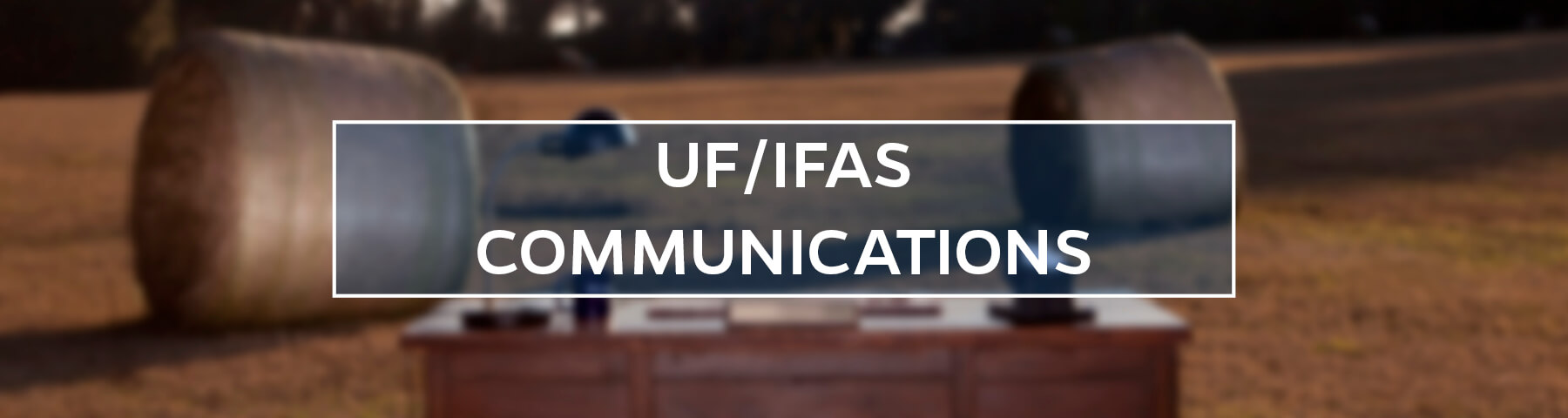 UF/IFAS Communications