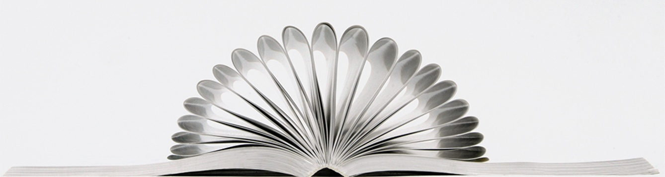 A book with its pages folded to look like a flower. 02/13/2008 UF/IFAS Photo: Thomas Wright
