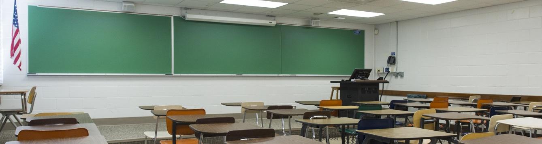 Empty deskEmpty desks in a classroom. Photo taken 05-22-17.s in a classroom
