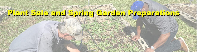 2019 Spring Plant Sale Prep