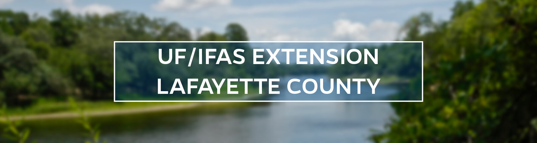 UF/IFAS Extension Lafayette County