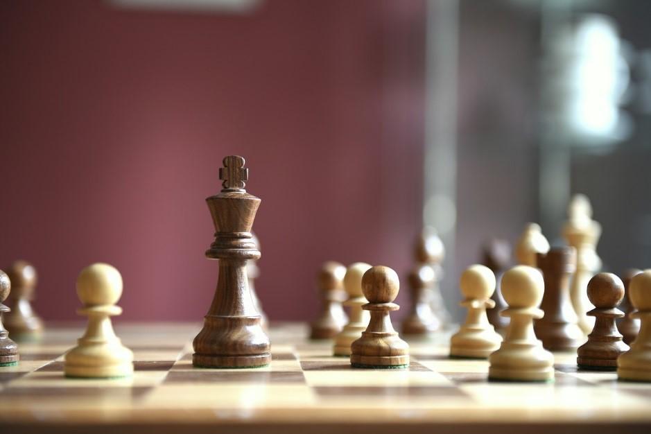 Chess for brain exercise.