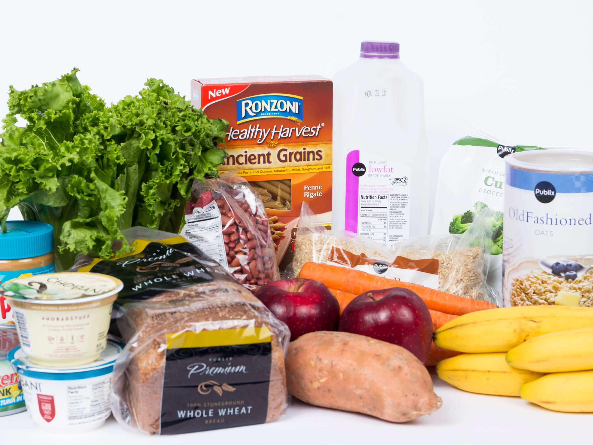 Consider these healthy options when grocery shopping