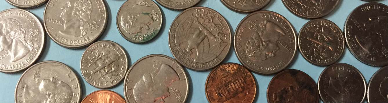 picture of various coins