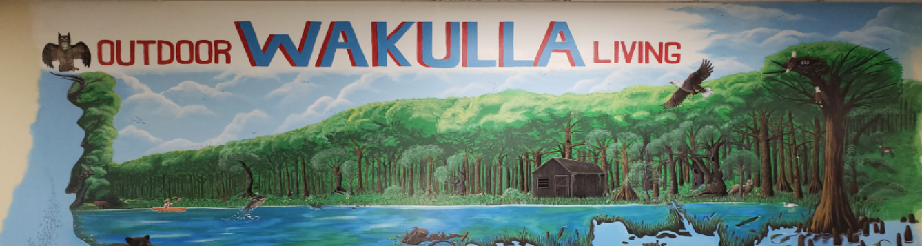 Outdoor Wakulla Living mural
