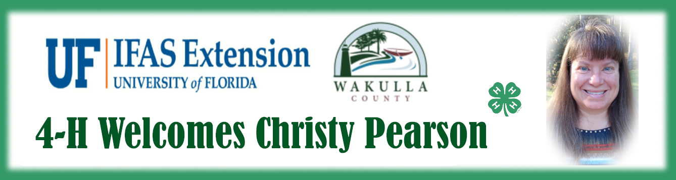 Welcome Christy Pearson insert