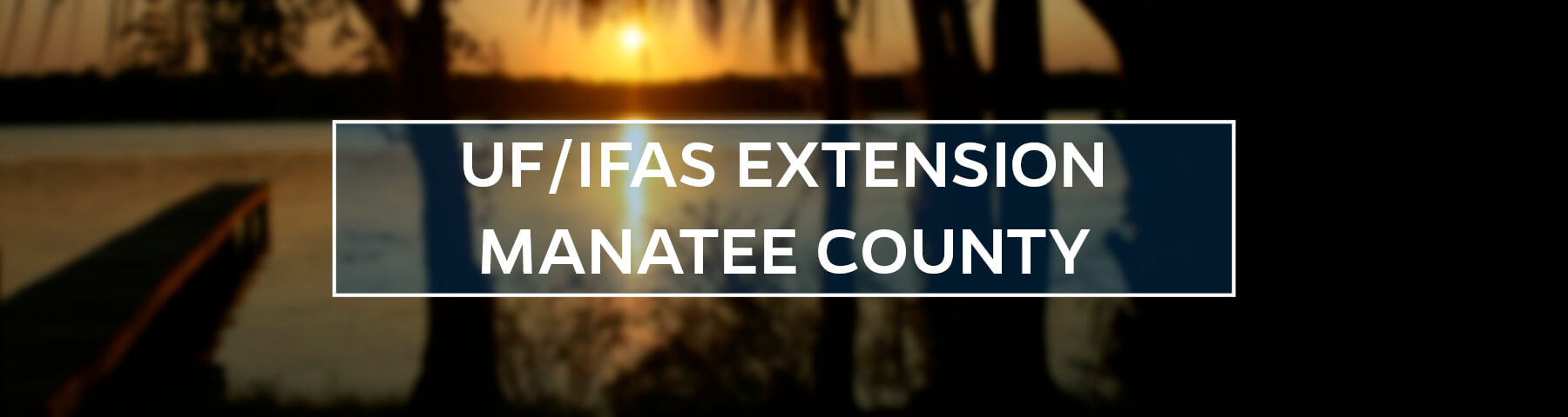 UF/IFAS Extension Manatee County