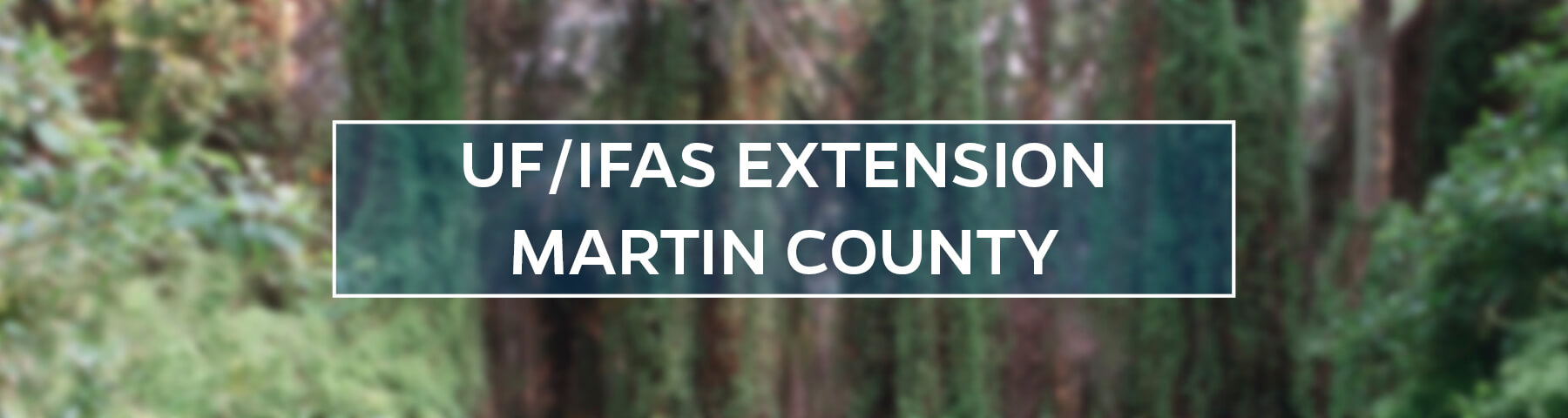 UF/IFAS Extension Martin County