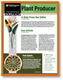 Plant Producer Newsletter