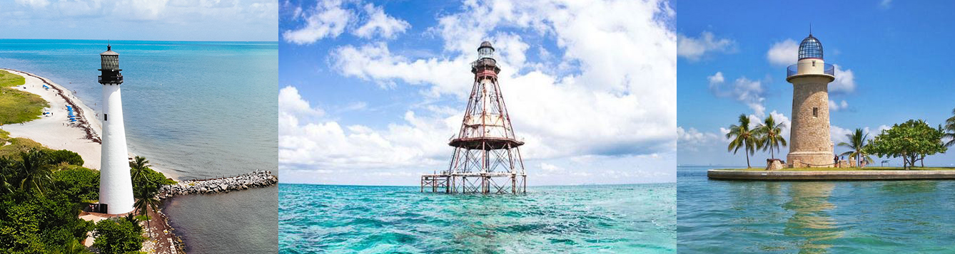 Miami-Dade County's Three Lighthouses