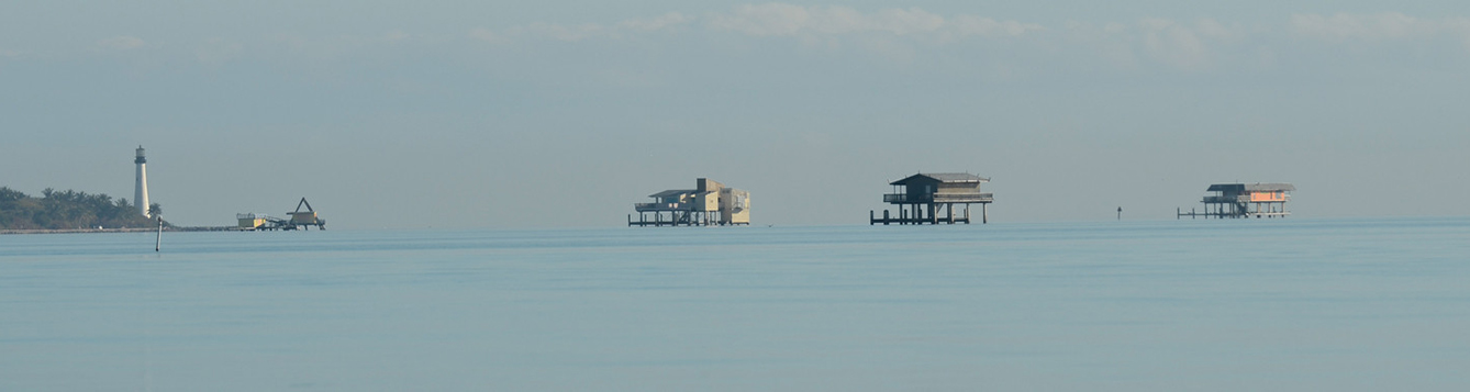 View of Stiltsville