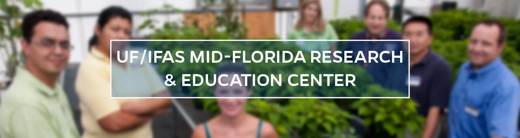 Mid-Florida Research and Education Center Header