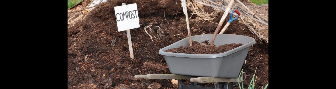 Turn manure into compost for your garden