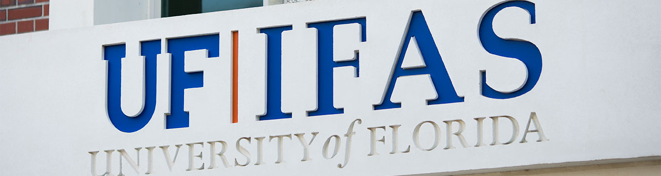 UF/IFAS Sign on building