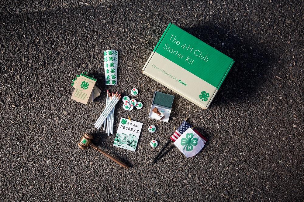 4-H Starter Club Kit items