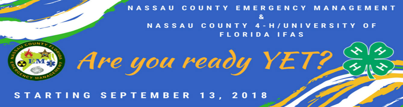 Nassau County Emergency Management Youth Emergency Team- Are you ready yet?