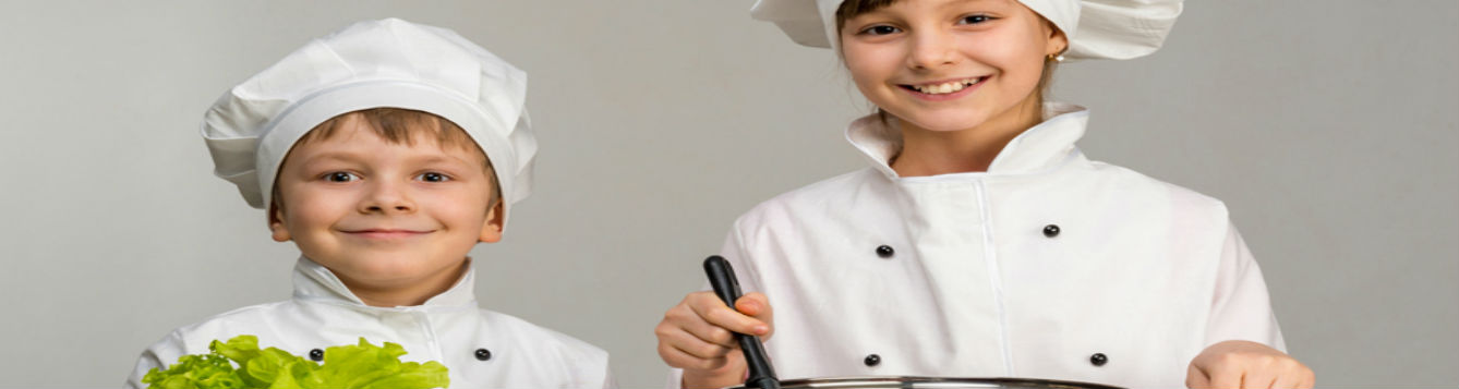 2 youth chefs