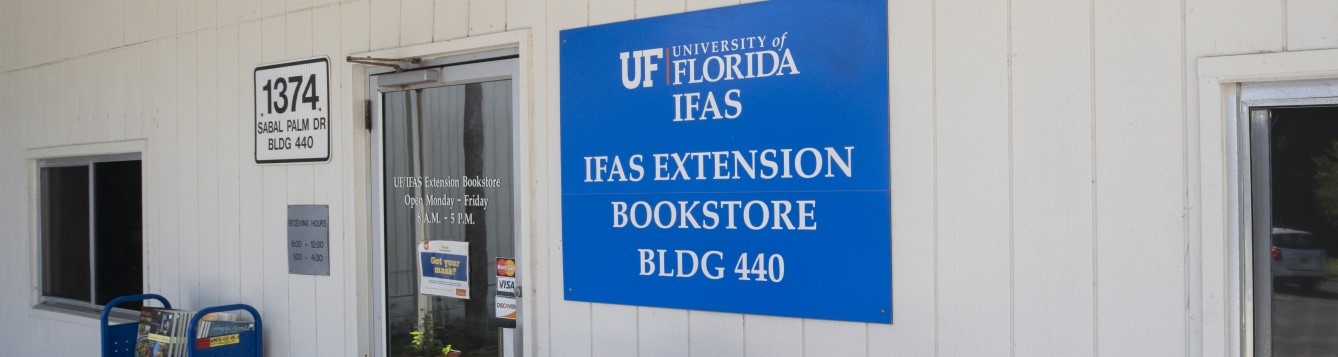 UF IFAS Book store sign