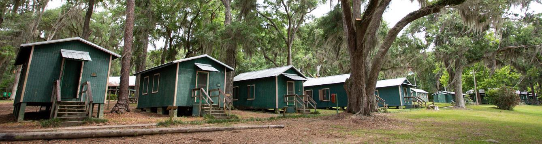 Cabins at 4-H Camp Cherry Lake